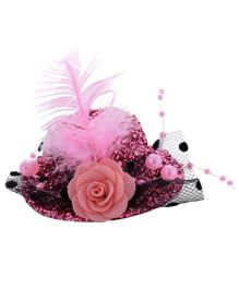 Angel Closet Stylish Hat Clip - Pink