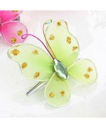 Angel Closet Butterfly Hair Clip - Green