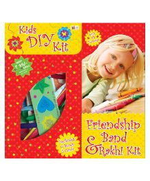 Art Factory Friendship Band And Rakhi DIY Kit - Multi Color