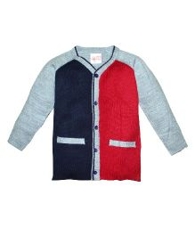 FS Mini Klub Full Sleeves Sweater - Navy Red