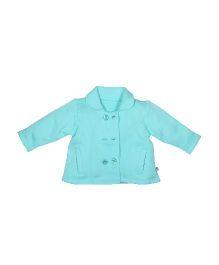 FS Mini Klub Full Sleeves Jacket - Sea Green