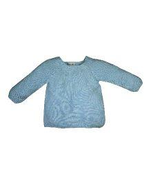 FS Mini Klub Full Sleeves Wrap Sweater - Blue