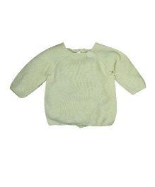 FS Mini Klub Full Sleeves Wrap Sweater - Cream