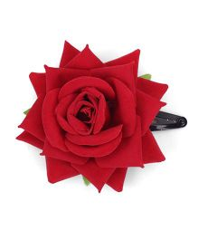 Sugarcart Big Rose Clip - Red