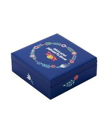 The Crazy Me Main Apni Favourite Hoon Wooden Jewellery Box - Blue