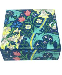 The Crazy Me Mystical Nature Wooden Jewellery Box - Multicolour