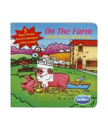 Navneet -  On The Farm Jigsaw Puzzle  Book