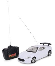 Playmate Remote Controlled Car - White