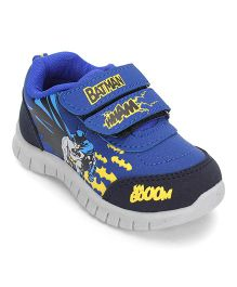 Batman Printed Casual Shoes - Royal Blue