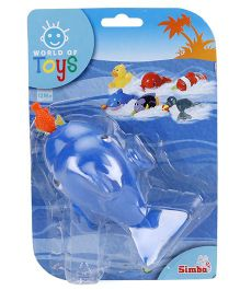 Simba World Of Toys Pull String Sea Animal - Blue