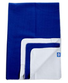 Littles Easy Dry Bed Protector Large - Royal Blue