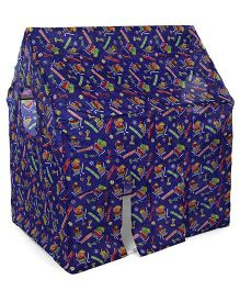 Lovely Big Play Tent House Multiprint - Blue