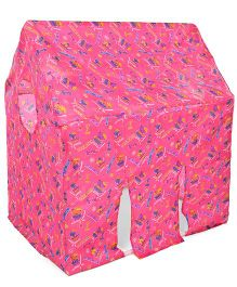 Lovely Big Play Tent House Multiprint - Pink
