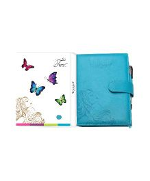 Tiara Diaries Pregnancy and Baby Journal Cum Planner - Blue
