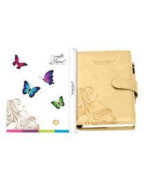 Tiara Diaries Pregnancy and Baby Journal Cum Planner - Beige