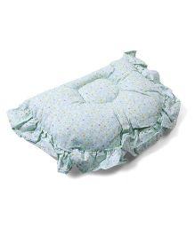 Owen Semi Circle Pillow - Light Green