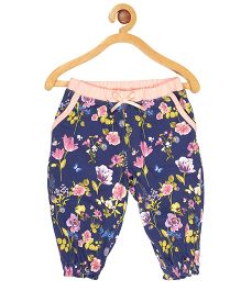 My Lil'Berry Full Length Pajama Floral Print - Blue