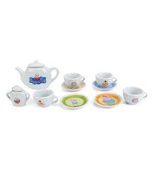 Smoby Peppa Pig Porcelain Tea Set - 12 Pieces