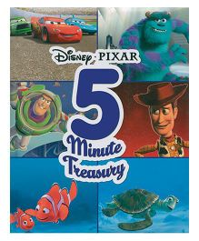 Disney Pixar 5 Minute Treasury - English