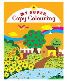 My Super Copy Colouring - English