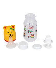 Little's Streamline Mini Feeding Bottle 120 ml (Color May Vary)