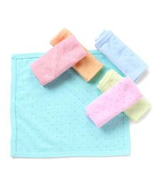 Zero Napkins Pack Of 6 Dotted Print - Multicolor