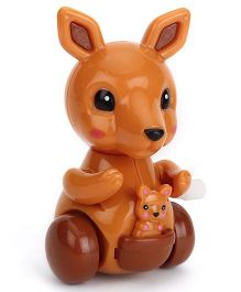 Playmate Wind Up Kangaroo Toy Assorted Color - 9 cm