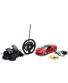 Smiles Creation Remote Control Fast Car Toy - Red