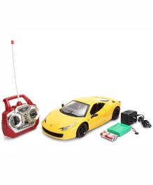 Smiles Creation Powerful Remote Control Car - Yellow