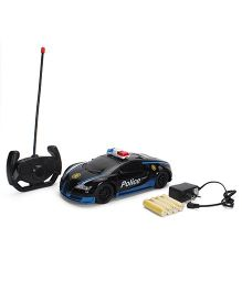 Smiles Creation Remote Control Police Car - Black And Blue
