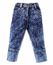 Little Kangaroos Full Length Jeans - Dark Blue