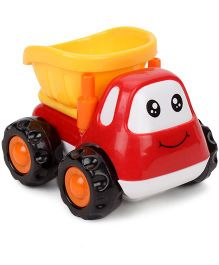 Dump Truck Toy - Red And Yellow
