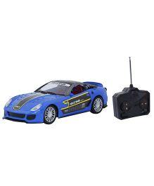 Emob Fully Loaded Radio Control Car Sports Model - Blue