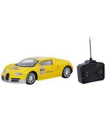 Emob Fully Loaded Radio Control Car Sports Model - Yellow
