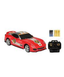 Emob Fully Loaded Radio Control Car Sports Model - Red