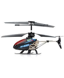 Emob LED Messaging 3.5 Channel Helicopter - Black