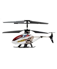Emob LED Messaging 3.5 Channel Helicopter - White