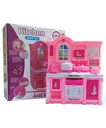 Emob Cute Happy Kitchen Musical Play Set - Pink