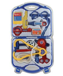 Emob Doctor Play Set Blue - 14 Pieces