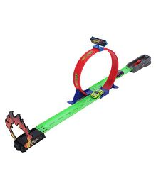 Emob Powerful Spin Loop Way Racing Inertia Power Car Multicolor - 3 Vehicles