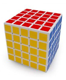 Emob Magic 5 x 5 Rubik Cube - Multicolor