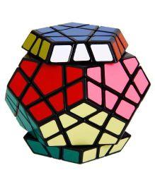 Emob Magic Puzzle Cube Brain Teaser Megaminx Cube Training Magnetic Ball - Multicolor