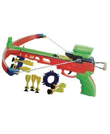 Emob Crossbow Shooting Gun Sport Game Set - Multicolor