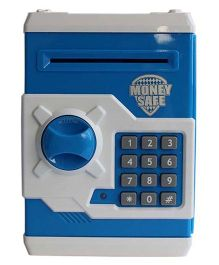 Emob Smart Electronic Money Bank With Locker - Blue