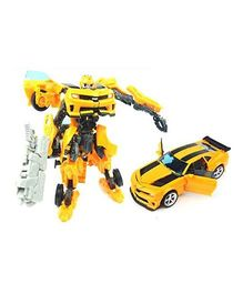 Emob Transformation Convertibe Robot Yellow - 18 cm