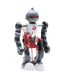 Emob Tumbling Robot Machine Experiment Kit - Silver White