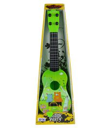 Emob Long Party Play Guitar Green - Height 40 cm