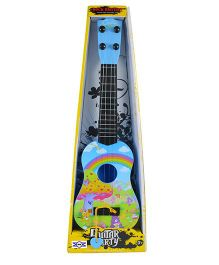 Emob Long Party Play Guitar Blue - Height 40 cm