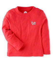 Vitamins Full Sleeves T-Shirt - Red