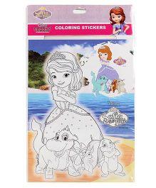 Disney Sofia the First Coloring Sticker - Multi Color